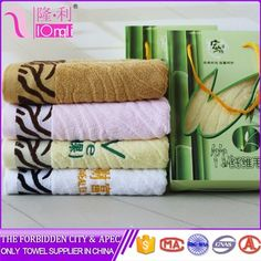 2016 China manufacture bamboo fiber multi function face towel