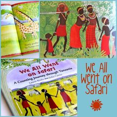 We all went on Safari - Counting Book with the Maasai as they encounter animals along the way. Could be the base of some wonderful art projects about local animals encountered on nature walk. African Art Projects, African Crafts, African Art For Kids, Art Books For Kids, Childrens Books, Cs Lewis, Nikola Tesla, African Theme, African Safari