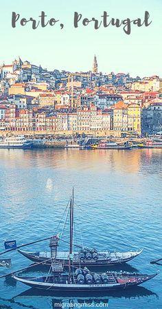 De stad Porto in Portugal is één absolute must visit tijdens je roadtrip. Prachtige straatjes en veel fijne restaurants.
