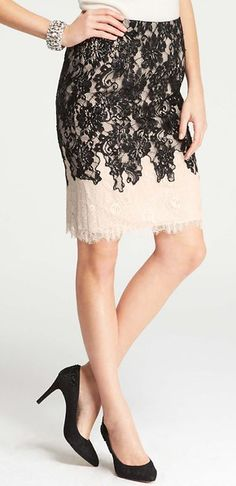 lovely lace / ann taylor