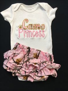 Baby Girl Camo Clothes Alluring Camo Baby Girl  Future Babies ☺  Pinterest  Camo Baby Girls Decorating Design