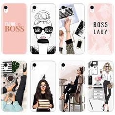 soft-silicone-girl-boss-pink-women-cartoon-back-cover – Shopiraz-shop Cheap Phone Cases, Iphone Cases, Iphone 8, Boss Babe, Girl Boss, Compare Phones, 6 S Plus, Fashion Packaging, Iphone Models
