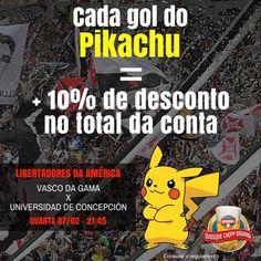 Bar promete desconto a vascaínos em caso de gol de Pikachu na Libertadores – ValeSeuClick.com