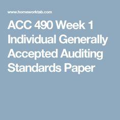 Acc  Week  Learning Team Audit Sampling Case Memo And