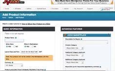 JVZoo Tutorials - Add/Edit Product Page - JVZoo Marketplace