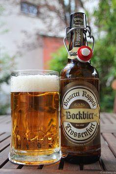 Bockbier der Brauerei Roppelt aus Trossenfurt   Flickr - Fotosharing!