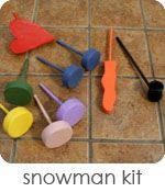 Snowman Kit - Peek-a-Boo Pages - Sew Something Special Snowman Kit, Snowman Party, Diy Snowman, Snowmen, New Crafts, Diy Crafts For Kids, Gifts For Kids, Craft Ideas, Kids Diy
