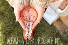 You can't be having the best day of your life with your friends, hanging on a grassy knoll, without a dreamcatcher necklace.