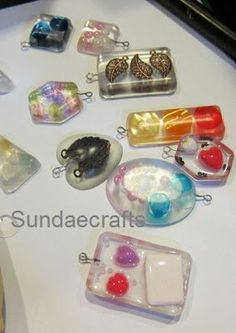 Tutorial on how to make your own resin jewellery