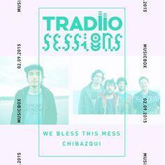The Music Spot: Chibazqui e We Bless This Mess amanhã no Musicbox