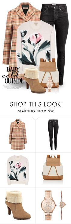 """Jan 7th (tfp) 2836"" by boxthoughts ❤ liked on Polyvore featuring Kershaw, Tory Burch, H&M, Burberry, Barneys New York, Anne Klein, Michael Kors and tfp"