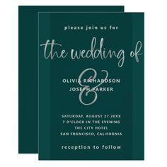 Silver Wedding Invitations, Beautiful Wedding Invitations, Custom Invitations, Wedding Cards, Party Invitations, Invites, Grey Wedding Decor, Wedding Ideas, Wedding Stuff