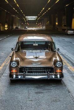 57 Chevy #mustangvintagecars #hotrodvintagecars