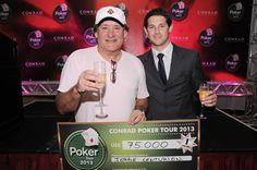 Jorge Centurión gana la 12° fecha del Conrad Poker Tour