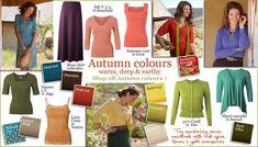 Warm Autumn Skin Tone Color Palette | Autumn Kettlewell colours