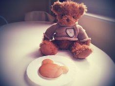 teddy pancake