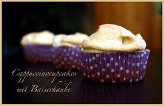 Cappuccinocupcakes mit Baiserhaube