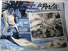 """La perla (1945) Dir. Emilio """"El Indio"""" Fernández Fotografía: GABRIEL FIGUEROA. Excelentes escenas en la playa y perfecta composición"""