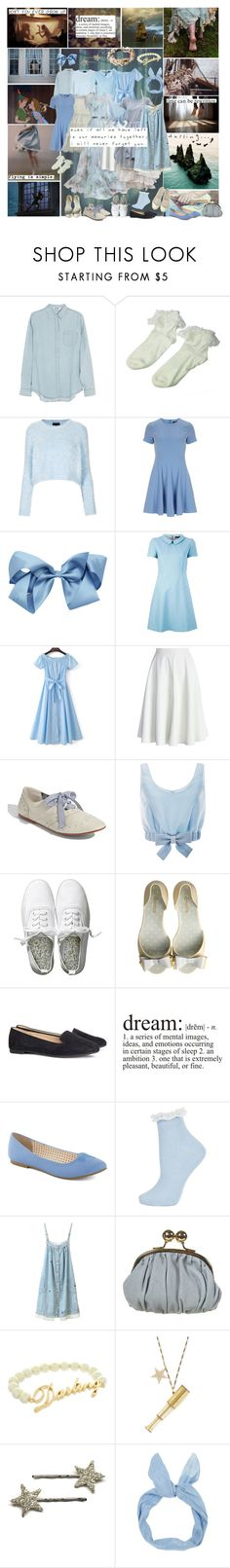 """Wendy Darling (Peter Pan)"" by smol-snowflake ❤ liked on Polyvore featuring Once Upon a Time, Disney, Acne Studios, Retrò, Topshop, Dorothy Perkins, STELLA McCARTNEY, Tara Jarmon, WithChic and Jenny Packham"