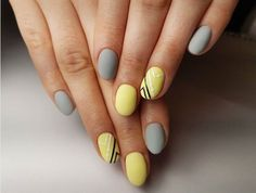 Top 150 ideas for Yellow Nail art designs - Reny styles