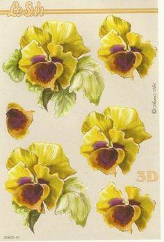Flower Fairies, Flower Art, Image 3d, Decoupage Printables, Floral Print Design, 3d Paper Crafts, 3d Cards, Free Graphics, Elementary Art