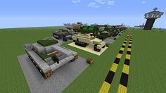 Military Museum - Fighter Aircraft, Vehicles & Boats Minecraft Project