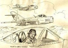 US Military Aviation - Buck Danny Airplane Drawing, Cartoon Airplane, Airplane Art, Airplane Sketch, Buck Danny, Military Drawings, Car Design Sketch, Bd Comics, Comic Panels