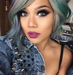 30 Short Haircuts for Women. love her hair color Beauty Make-up, Beauty Hacks, Hair Beauty, Short Hair Cuts For Women, Short Hair Styles, Short Cuts, Pixie Cut Blond, Gorgeous Makeup, Pretty Makeup