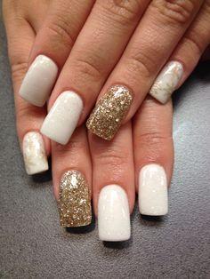 Winter nails! The nail lounge