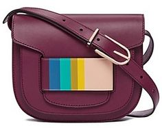 Tory Burch Crescent Multi-Color Cross-Body