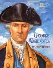 artwork from book cover on George Washington