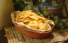 Zesty Cheese Straws from FoodNetwork.com Paula Dean