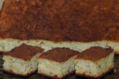 Bramborovo-houbový koláč