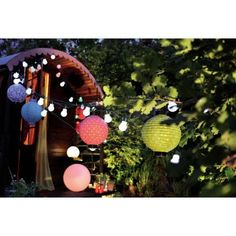 """Guinguette"" string light 9 m"