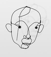 ALEXANDER CALDER Alexander Calder, Shades Of Purple, Arts And Crafts, Portrait, Fictional Characters, Vide, Projects, Image, Joan Miro