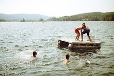 fun in the lake in cottage country Summer Dream, Summer Fun, Summer Days, Ernst Hemingway, Vie Simple, Good Vibe, Summer Aesthetic, Lake Life, Indie Movies