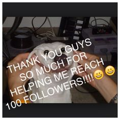 You guys mean a lot to me and tell me anything in the comments if you me to post anything differently!!!