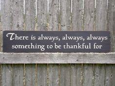Thankfulness