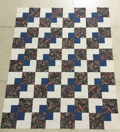 Top I made for Comfort Quilts of Quilt Guild by the Sea.  Lee will quilt it.  Aug 2016