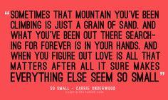 Carrie Underwood is my absolute favorite singer. :)