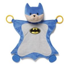 Gund Superhero: Baby Dc Comics Malone as Batman Activity Baby Blanket Malone activity blanket with accurate Batman costume details, sure to please comic book enthusiasts. Activity blankets combine a plush toy head with a soft surface perfect for tummy time and playtime.  http://awsomegadgetsandtoysforgirlsandboys.com/gund-superhero/ Gund Superhero: Baby Dc Comics Malone as Batman Activity Baby Blanket