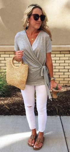 Really like this outfit! Clean, casual look. Pretty Stitch Fix Summer Style Women 40 34 Stitch Fix Outfits, Outfits For Teens, Cute Outfits, Casual Outfits, Jeans Outfit Summer, Summer Clothes For Women, Casual Summer Outfits For Women, Summer Jeans, Summer Tops