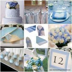 classic light blue wedding ideas | Classic Weddings and Events: May 2012
