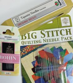 "Have you ever heard the term ""big stitch quilting"" and wondered exactly what that meant? It's not just traditional hand quilting, and yet in some ways, that's exactly what it is. Read on to find out more about big stitch quilting, including a step-by-step tutorial, for a fun twist on traditional hand quilting."