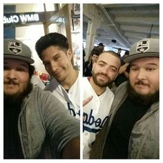 THINK BLUE: Dodgers Lost but I got to Meet Chino y Nacho gracias Chino y Nacho por la foto by dcsantos10
