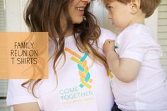 Family Reunion T-Shirts DIY (+ Free Download) | Oh Happy Day!