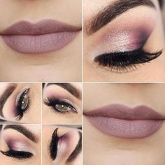 Makeup Artist ^^ | https://pinterest.com/makeupartist4ever/  Makeup _ rosa _ rose _ pausa para feminices