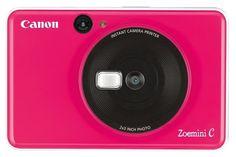 ch: Fotokameras > Sofortbildkameras > Kameras > Canon Kamera Zoemini C Bubble Gum Pink Fujifilm Instax, Canon Kamera, Usb, Carte Micro Sd, Selfies, Instant Film Camera, Fill Light, Polaroid Pictures, Mirrors