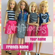 Write Your Name on BFF Greeting Card With Cute Dolls.Best Friendship Name Card.Customized Name on Designer Greeting For Friendship. Cute Friendship Images, Friendship Wishes, Best Friendship, I Love You Pictures, Friend Pictures, Birthday Msgs, Happy Birthday Cake Images, Instagram Status, Purple Love