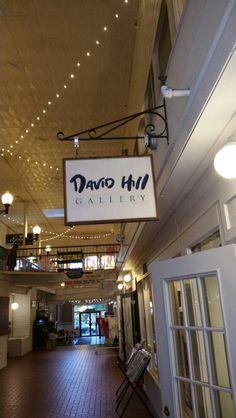 David Hill art gallery.